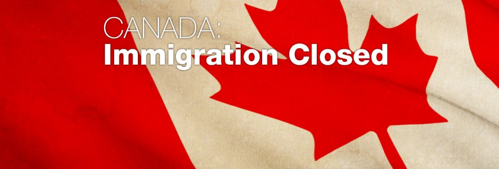 CanadaImmigrationClosed
